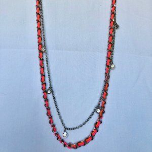 Ann Taylor Double Strand Necklace
